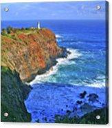 Lighthouse On The Hill Acrylic Print