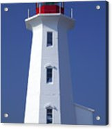 Lighthouse Peggy's Cove Acrylic Print