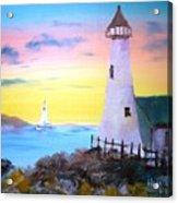 Lighthouse Study Acrylic Print