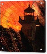 Lighthouse Sunrise Acrylic Print