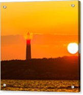 Lighthouse With Flare Acrylic Print