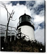 Lighthouse With Twist Acrylic Print
