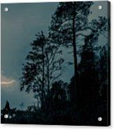 Lighting On The Lake 2 Acrylic Print
