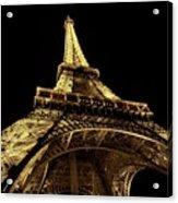 Lighting The World Of Paris Acrylic Print