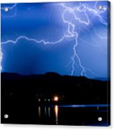 Lightning Blues Acrylic Print