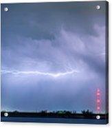 Lightning Bolting Across The Sky Acrylic Print