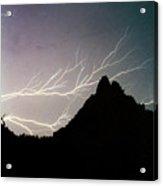 Lightning Branch Acrylic Print