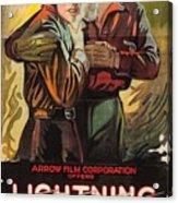 Lightning Bryce 1919 Acrylic Print