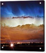 Lightning Cloud Burst Boulder County Colorado Im34 Acrylic Print