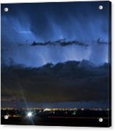 Lightning Cloud Burst Acrylic Print