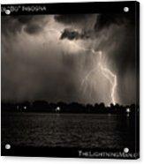 Lightning Energy Poster Print Acrylic Print