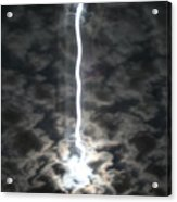Lightning Moon Acrylic Print