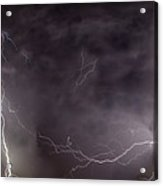 Lightning Over Perris Acrylic Print