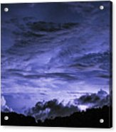 Lightning Over Pohnpei Acrylic Print