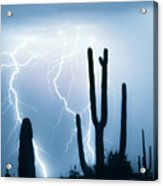 Lightning Storm Chaser Payoff Acrylic Print