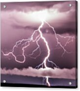 Lightning Strikes Acrylic Print