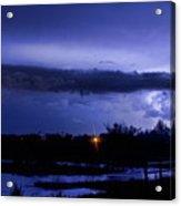 Lightning Thunderstorm July 12 2011 St Vrain Acrylic Print