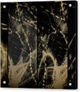 Lightpainting Quads Art Print Photograph 4 Acrylic Print