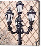 Lightpost Acrylic Print