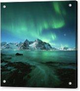 Lights Above Lofoten Acrylic Print