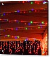Lights At Christmas Acrylic Print
