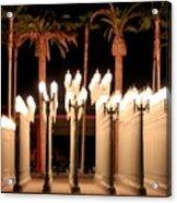 Lights At The Lacma La County Museum Of Art 0763 Acrylic Print