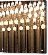Lights At The Lacma La County Museum Of Art 0766 Acrylic Print