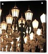 Lights At The Lacma La County Museum Of Art 0769 Acrylic Print