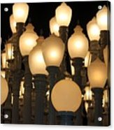 Lights At The Lacma La County Museum Of Art 0777 Acrylic Print