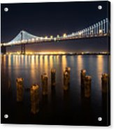 Lights By The Bay Acrylic Print
