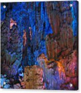 Lights In A Cave Acrylic Print