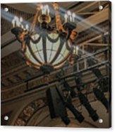 Lights Of Broadway Acrylic Print