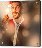 Lights Of Christmas Ideas Acrylic Print