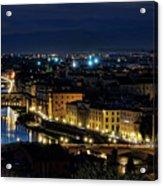 Lights Of Florence Acrylic Print