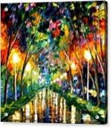 Lights Of Hope Acrylic Print