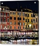 Lights Of Venice Acrylic Print