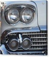 Lights On A '58 Chevy Acrylic Print