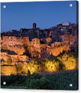 Lights On Pitigliano Acrylic Print