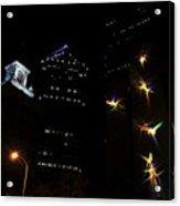 Lights On Tampa Acrylic Print