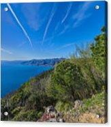 Liguria Paradise Gulf Panorama Acrylic Print
