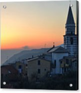 Ligurian Sunset Acrylic Print