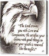 Like The Eagle Acrylic Print