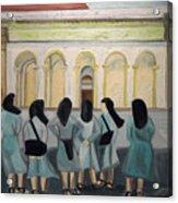 Lil Nuns Of Florence 2004 Acrylic Print