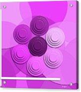 Lilac Bouquet Acrylic Print