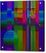 Lilac Doors Acrylic Print