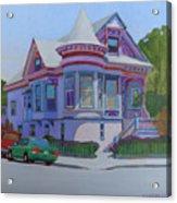 Lilac House, Alameda Acrylic Print