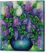 Lilacs No 1. Acrylic Print