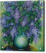 Lilacs No 2. Acrylic Print