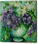Lilacs No 4. Acrylic Print