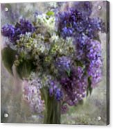 Lilacs Of Love Acrylic Print